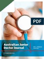 Junior Doctor Journal www.juniordoctorjournal.com