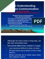 Ch 2 Understanding Business Communication New
