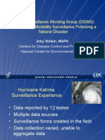 Disaster Surveillance Working Group (DSWG)