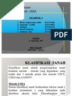Klasifikasi  USDA tanah