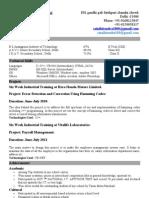 Hitendra Resume