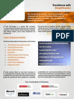Cyret Corporate Brochure