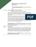 Top Global Macro Ideas, 2007-2012