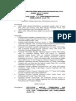 KepmenPU353-2001 Tata Cara Pembangunan Pemeliharaan Jalan Tol