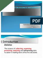 Case Study on Business Mathematics