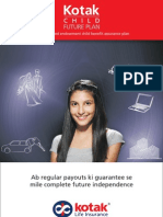 Kotak Child Future Plan - Brochure - Final