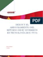 Dexon Software y el ROI