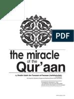 The Miracle of the Quraan [Allamah al-Fawzaan]