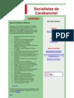 Socialistas de Carbanchel - Nº7 - Nov08