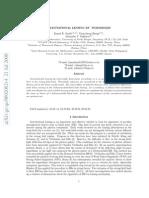 Kamal K. Nandi et al- Gravitational Lensing By Wormholes