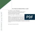 S V Chernov and V I Dokuchaev- Vacuum shell in the Schwarzschild-deSitter world