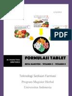 Tugas- Formulasi Tablet Beta Karoten-Vitamin C- Inggrid