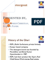 case study of ghari detergent