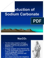 Production of Na2CO3
