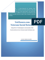 Vet Closure Com Social Network Summary
