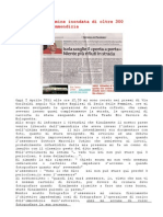 Cutino Ciampolillo e l'Aggressione Di Sabato 2 Aprile 2011
