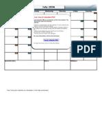 Excel Calendar v1-3
