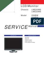 Samsung Sync Master 226bw 206bw Service Manual