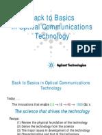 Agilent Back to Basics in Optical Communication