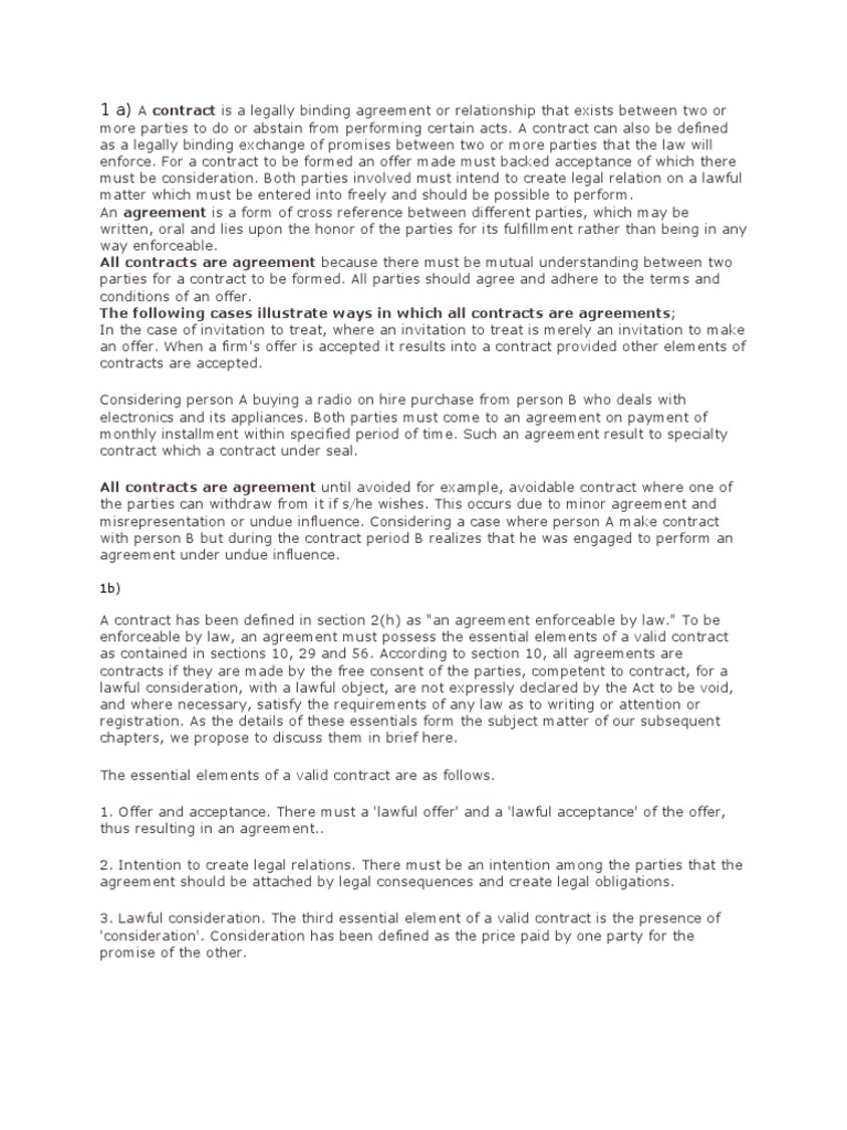 Buisnes Law   Law Of Agency   Breach Of Contract
