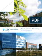 UOIT Report to Donors