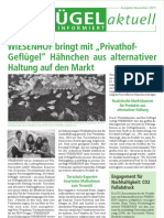 Wiesenhof Newsletter November 2011