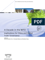 A Decade in the WTO
