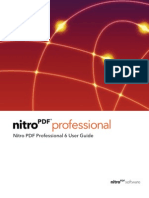 Nitro PDF Professional 6x User Guide