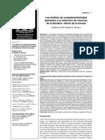 Los análisis de complementariedad aplicados a la selección de reservasde la biosfera
