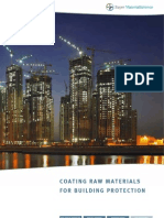 Brochure Coating Raw Materials for Building Protection 14-06-2011 E