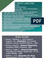 Kimia Slide Sifat-sifat Larutan