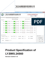Product Specification of LY.72VBMS.24S60