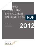 Tracking Residential Satisfaction on LI Poll Report 2012