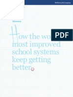 McKinsey Report 2010 How to Improve Education