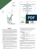 Bases del Concurso de Guillena 2012