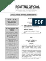 Reglamento para la Aplicación de la Ley de Fomento Ambiental y Optimización de los Ingresos del Estado