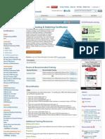Cisco CCNA syllabus