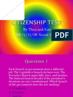 Citizenship Test With Katie