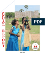 Hope House Annual Report - 2010 -2011