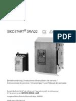 Siemens - Sike Start 3rw22 manual PT