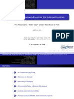 Programa da Disciplina Economia e Sistema Industriais