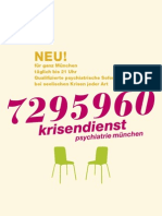 Krisendienst Flyer