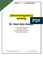 Electromagnetic Forming - Hani Aziz Ameen