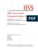Asia Hotel Valuation Index 2009 (English Version)