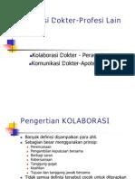 Komunikasi Dktr-profesi Lain