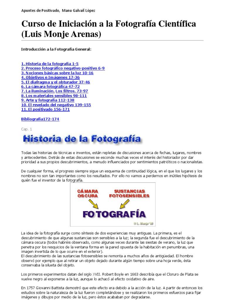 4e529f01f6 Curso de Iniciación a la Fotografía (Luis Monje Arenas)
