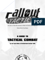 Fallout Tactics manual
