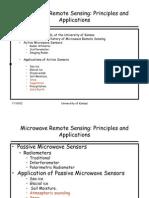Microwave Remote Sensing Intro Psd