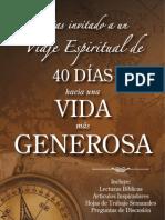 40 Dias Hacia Una Vida Mas Generosa