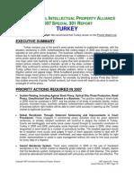 2007 Spec 301 Turkey